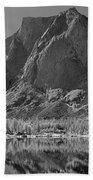 109644-bw-mitchell Peak, Wind Rivers Beach Towel