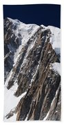 Mont Blanc Massif Beach Towel