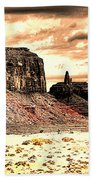 Monument Valley II Beach Towel
