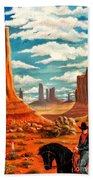 Monument Valley View Beach Towel