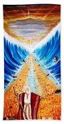 Moses. Beach Towel
