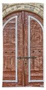 Mosque Doors 09 Beach Towel