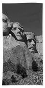 Mount Rushmore Beach Towel by Frank Romeo