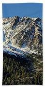 Mount Tom Beach Towel