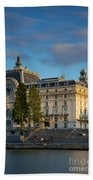 Musee D'orsay Evening Beach Towel