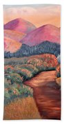 Natures Path Beach Towel