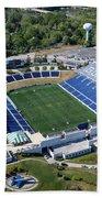 Navy Marine Corps Memorial Stadium Beach Towel