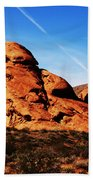 Nevada - Valley Of Fire Beach Towel