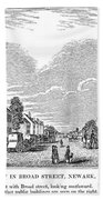 New Jersey Newark, 1844 Beach Towel