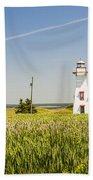New London Range Rear Lighthouse Beach Towel