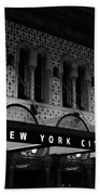 New York City Center Beach Towel