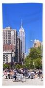 1-new York City Beach Towel
