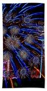 Niagara Fireworks Beach Towel