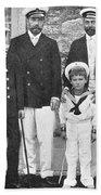 Nicholas II & George V, 1909 Beach Towel