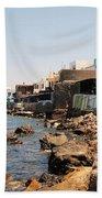 Nisyros Island Greece Beach Towel
