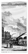 Norfolk, Virginia, 1856 Beach Towel