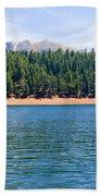 North Catamount Lake Beach Towel