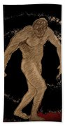 Nude Act Beach Towel