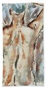 Nude Figure Beach Towel