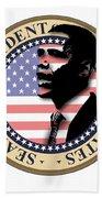 Obama-1 Beach Towel