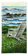 Ocean Chair Beach Towel