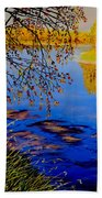 October Afternoon Beach Towel