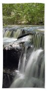 Odom Creek Waterfall Georgia Beach Towel