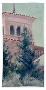Old Bell Tower Beach Towel