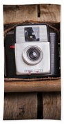 Old Camera Beach Towel