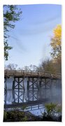 Old North Bridge Concord Beach Towel by Brian Jannsen