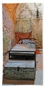 Old Prison Cell Beach Towel