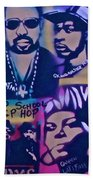 Old School Hip Hop 3 Beach Towel