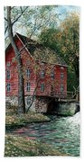 Old Time Mill Beach Towel