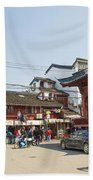 Old Town Of Shanghai China Beach Towel