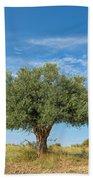 Olive Tree Beach Towel