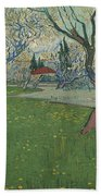 Orchards In Blossom Beach Towel