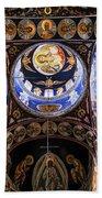 Orthodox Church Interior Beach Towel by Elena Elisseeva
