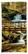 Over The River Beach Towel