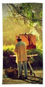 Within The Painting Beach Towel