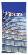 Palazzo Lombardia Beach Towel