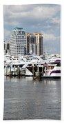 Palm Beach Docks Beach Towel