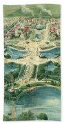 Pan-american Exposition Beach Towel
