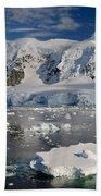 Paradise Bay, Antarctica Beach Towel