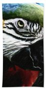 Parrot 13 Beach Towel