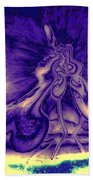 Passion In The Night Beach Towel