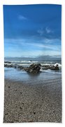 Patrick's Point Landscape Beach Towel by Adam Jewell