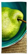 Pears Beach Towel by Nailia Schwarz