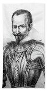 Pedro De Alvarado (1495?-1541) Beach Towel
