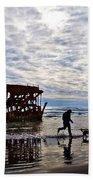 Peter Iredale Shipwreck, Fort Stevens Beach Towel