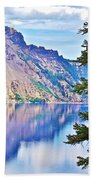 Phantom Ship Overlook In Crater Lake National Park-oregon Beach Towel
